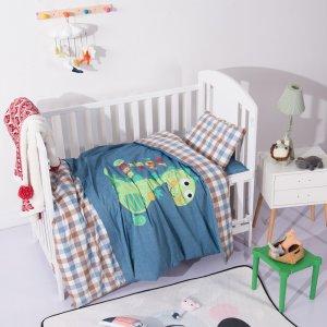 幼儿园床上用品系列 儿童被子三件套